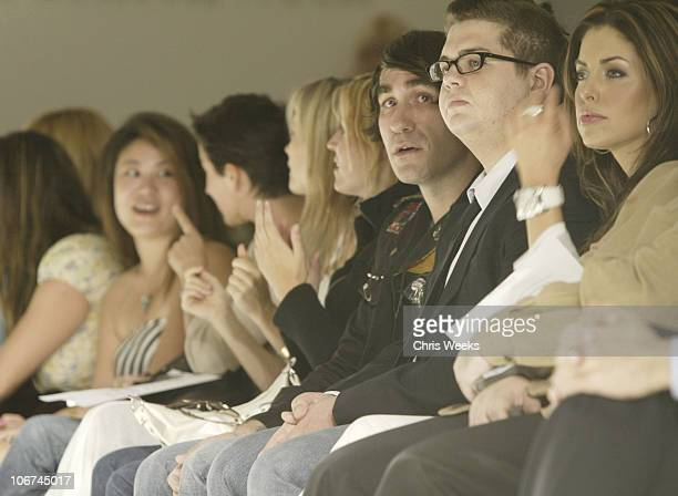 Anna Getty Amy Smart Brent Bolthouse and Jack Osbourne