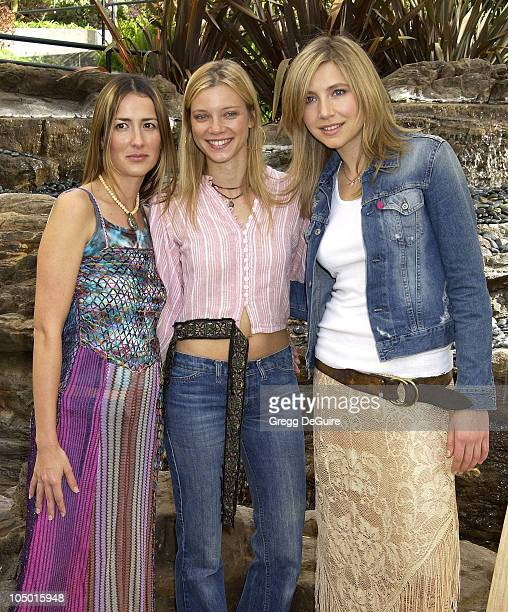 Anna Getty Amy Smart Sarah Chalke during 2nd Annual Danny Seo's SuperNatural Super Suite at The W Hotel in Westwood California United States