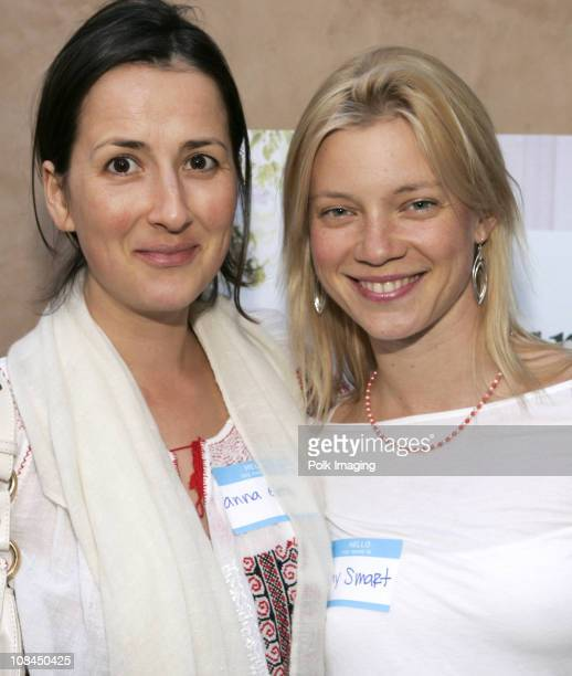 Anna Getty and Amy Smart during Children's Health Environmental Coalition Launches The Blue Butterfly Campaign with Seventh Generation and Honors...