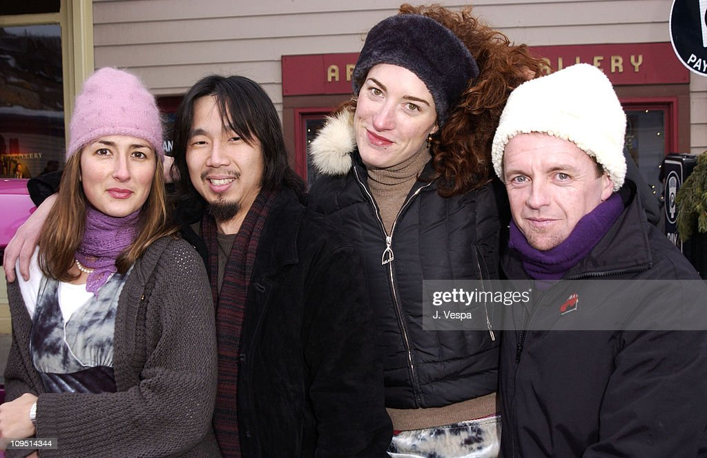"""2002 Sundance Film Festival - """"Confessions of a Burning Man"""" Outdoor Portraits"""