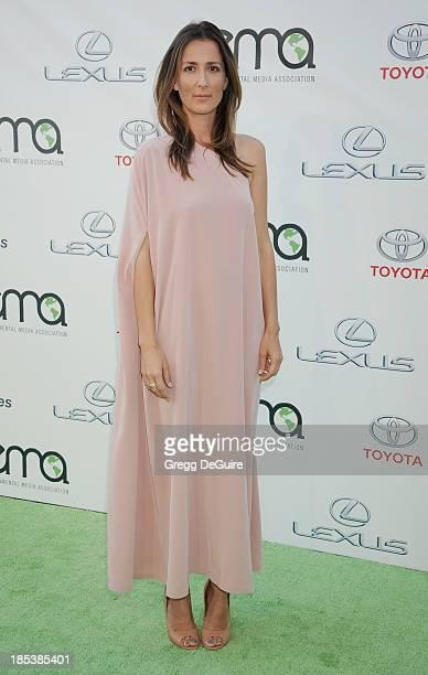 Anna Getty arrives at the 2013 Environmental Media Awards at Warner Bros Studios on October 19 2013 in Burbank California