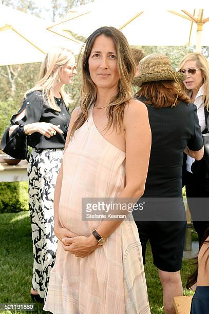 Anna Getty attends Annual HEART Brunch Featuring Stella McCartney on April 14 2016 in Los Angeles California
