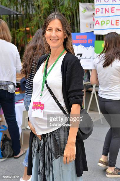 Anna Getty attends Hammer Museum KAMP 2016 on May 22 2016 in Los Angeles California