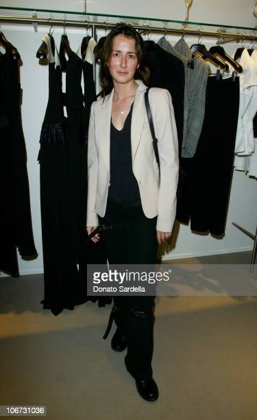 Anna Getty during Cerruti and David Cardona CoHost Private Party to Celebrate the Opening of Cerruti Beverly Hills Benefiting OPCC at Cerruti Store...