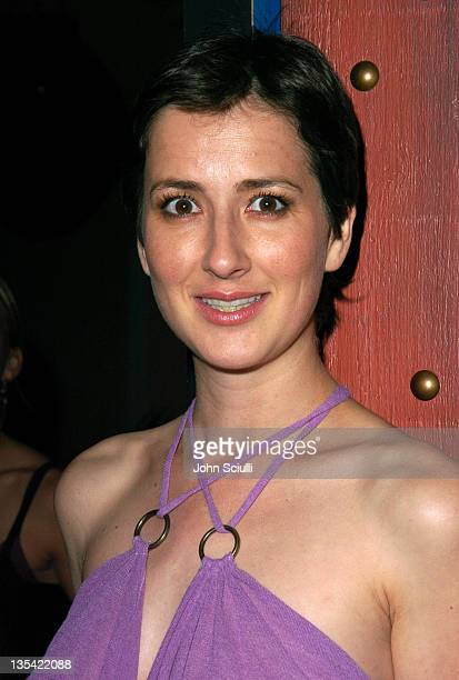 Anna Getty during 'Confessions of a Burning Man' After Party at The Spider Club in Hollywood California United States