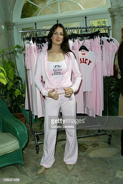 Anna Getty during Lucky Magazine Hosts the Launch of Down Dog Couture by Juicy at Private Home in Los Angeles CA United States