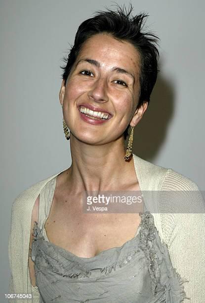 Anna Getty during MercedesBenz Fall 2004 Fashion Week at Smashbox Studios Rami Kashou Front Row at Smashbox Studios in Culver City California United...