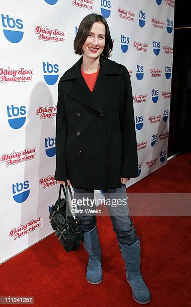Anna Getty during Party Celebrating the Premiere of the New TBS Comedy Series 'Daisy Does America' Red Carpet Inside at Guy's in West Hollywood...