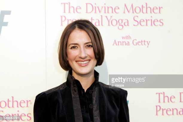 Anna Getty during The Divine Mother Prenatal Yoga Series Launch Party at Tea House in Los Angeles, California, United States.