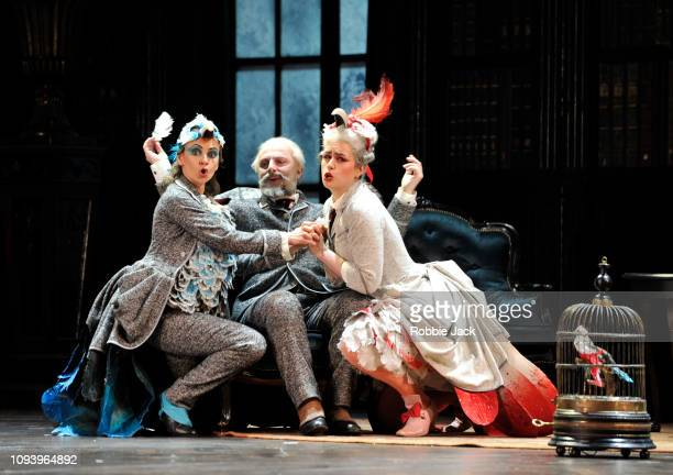 Anna Goryachova as Paulina Vladimir Stoyanov as Prince Yeletsky and Jacquelyn Stucker as Prelipa in Pyotr Il'yich Tchaikovsky's The Queen of Spades...