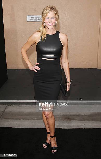 "Anna Gunn arrives at AMC's ""Breaking Bad"" special premiere event held at Sony Pictures Studios on July 24, 2013 in Culver City, California."