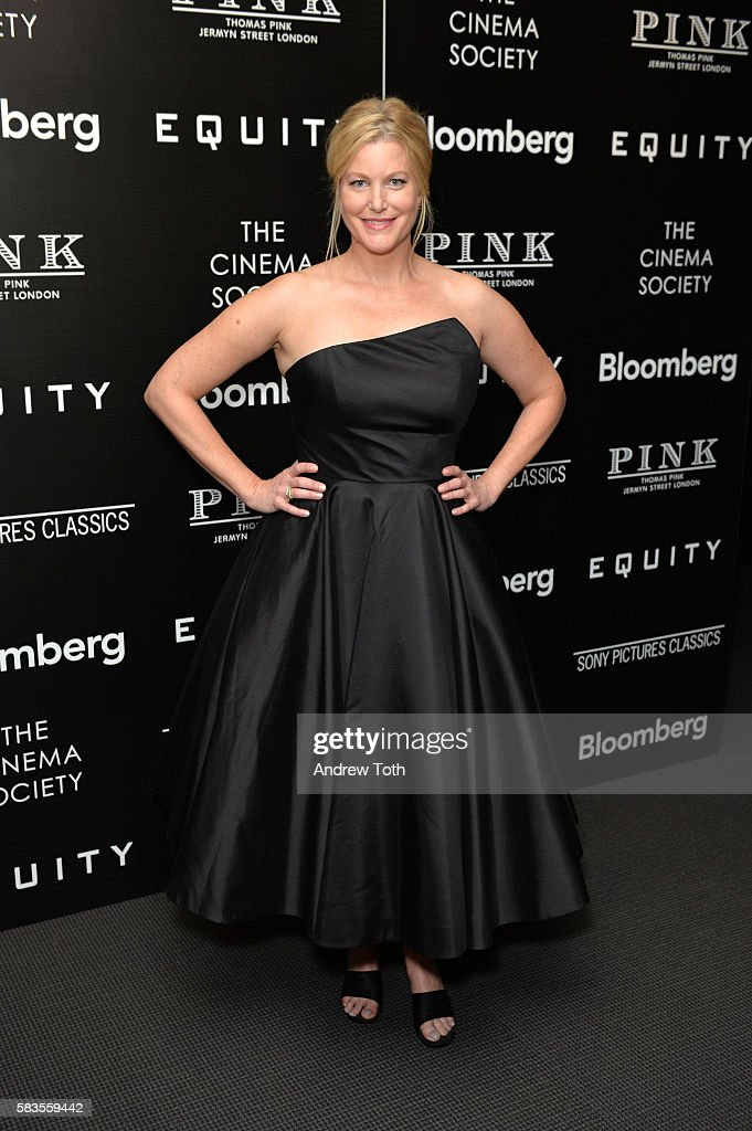 "The Cinema Society With Bloomberg And Thomas Pink Host A Screening Of Sony Pictures Classics' ""Equity"""