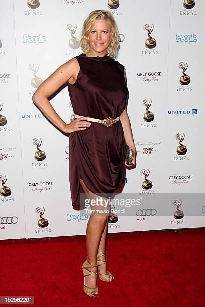 Anna Gunn attends the 64th Primetime Emmy Awards Performers Nominee reception held at Spectra by Wolfgang Puck at the Pacific Design Center on...