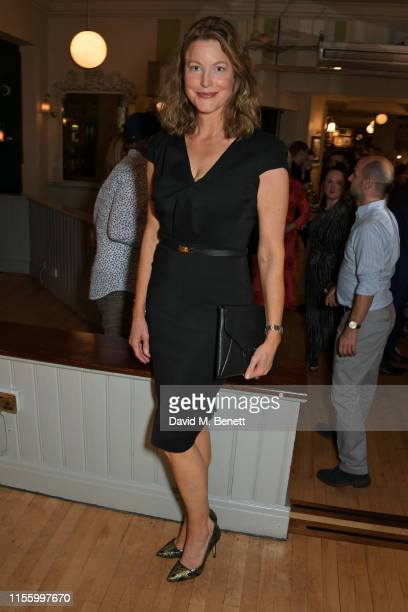 """Anna Gunn attends the press night after party for """"The Night Of The Iguana"""" at Browns on July 16, 2019 in London, England."""