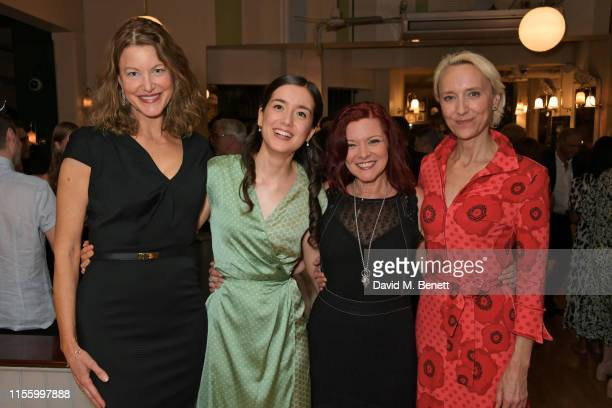Anna Gunn Emma Canning Finty Williams and Lia Williams attend the press night after party for The Night Of The Iguana at Browns on July 16 2019 in...