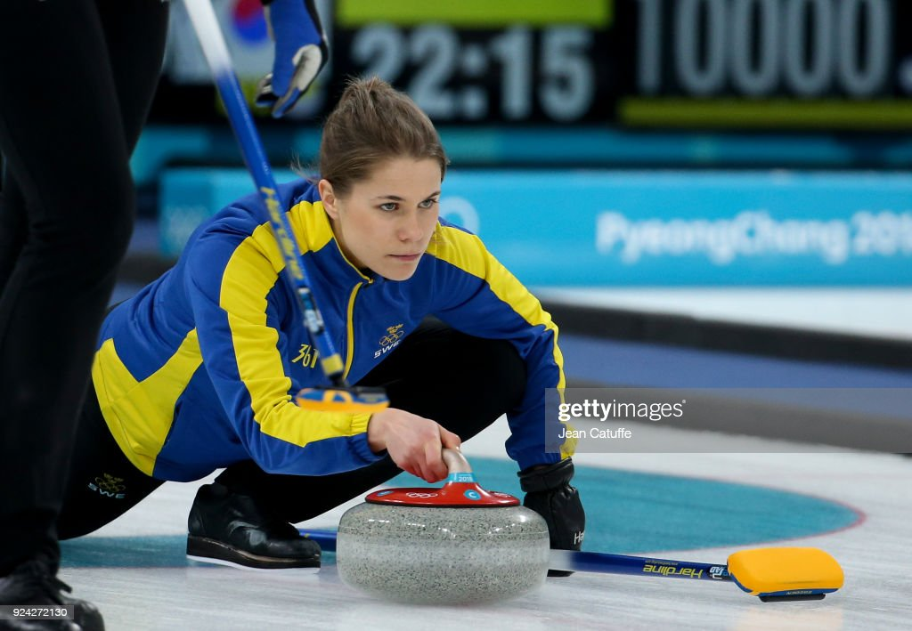 Curling - Winter Olympics Day 16 : Nachrichtenfoto