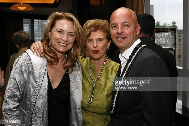 Anna Hawken McKay Marie C Wilson Rob McKay during Ms Foundation for Women's 18th Annual Gloria Awards at Mandarin Hotel in New York NY United States