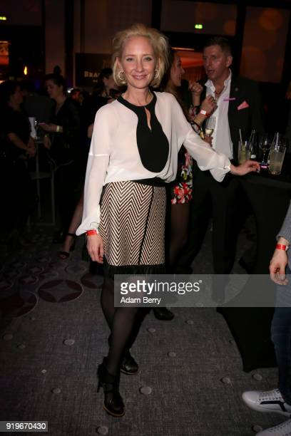 Anna Heche attends the Medienboard BerlinBrandenburg Arrivals during the 68th Berlinale International Film Festival Berlin at on February 17 2018 in...