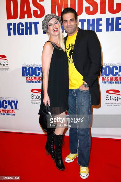 Anna Heesch and Carsten Spengemann attend the ROCKY Musical Gala Premiere at TUI Operettenhaus on November 18, 2012 in Hamburg, Germany.