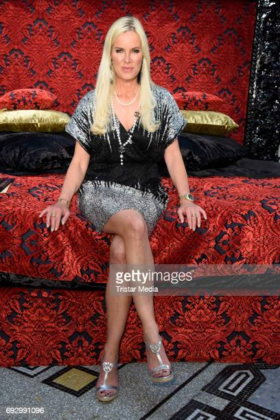 Anna Heesch attends the boxspringbed presentation 'Pompoeoes designed by Harald Gloeoeckler' on June 6 2017 in Berlin Germany