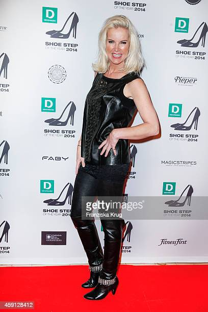Anna Heesch attends the Deichmann Shoe Step of the Year 2014 on November 17 2014 in Hamburg Germany