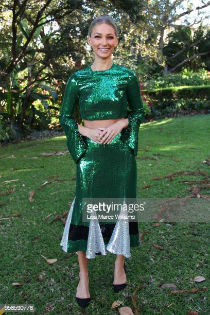 Anna Heinrich arrives ahead of the MacGraw show at MercedesBenz Fashion Week Resort 19 Collections at the Swifts Darling Point on May 15 2018 in...