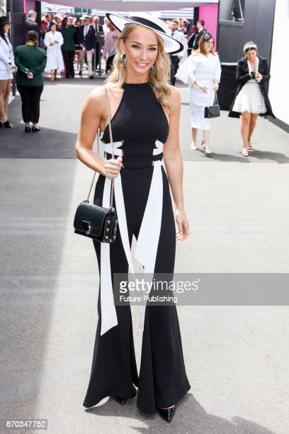Anna Heinrich arrives at the Melbourne Cup Carnival on November 4 2017PHOTOGRAPH BY Chris Putnam / Barcroft Images LondonT44 207 033 1031...