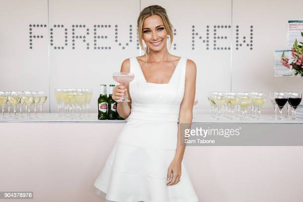 Anna Heinrich attends Portsea Polo on January 13 2018 in Melbourne Australia