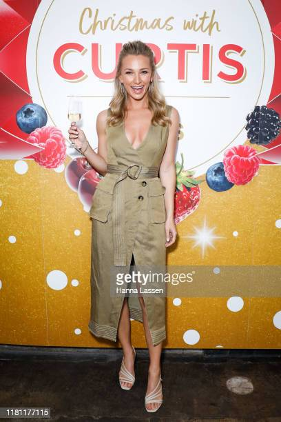 Anna Heinrich attends the Coles Christmas media event at Three Blue Ducks on October 15, 2019 in Sydney, Australia.