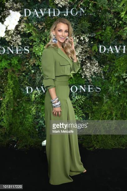 Anna Heinrich attends the David Jones Spring Summer 18 Collections Launch at Fox Studios on August 8 2018 in Sydney Australia