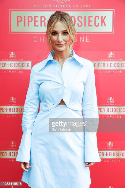 Anna Heinrich during PiperHeidsieck Australian Open Cocktail Party on January 17 2019 in Melbourne Australia