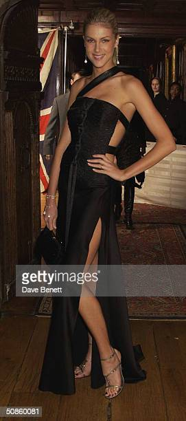818dad1177024 Anna Hikmann attends The London Party at Middle Temple sponsored by Variety  and UIP in aid