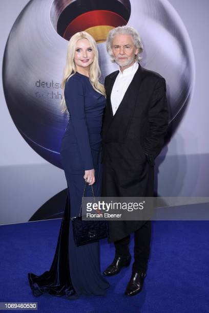 Anna Hiltrop and Hermann Buehlbecker attend the German Sustainability Award at Maritim Hotel on December 7, 2018 in Duesseldorf, Germany.