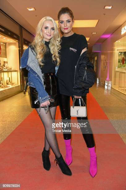 Anna Hiltrop and Vanessa Fuchs during the VIP Late Night Shopping Party on March 3 2018 in Hamburg Germany