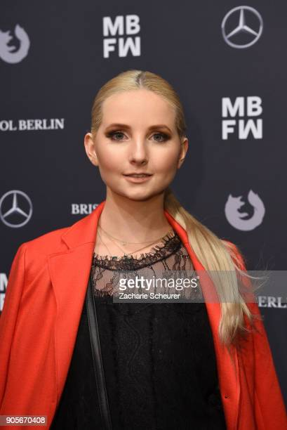 Anna Hiltrop attends the Riani show during the MBFW Berlin January 2018 at ewerk on January 16 2018 in Berlin Germany