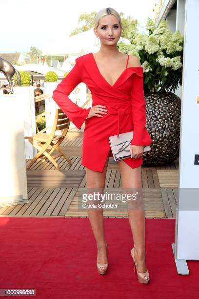 Anna Hiltrop during the media night of the CHIO 2018 on July 17 2018 in Aachen Germany