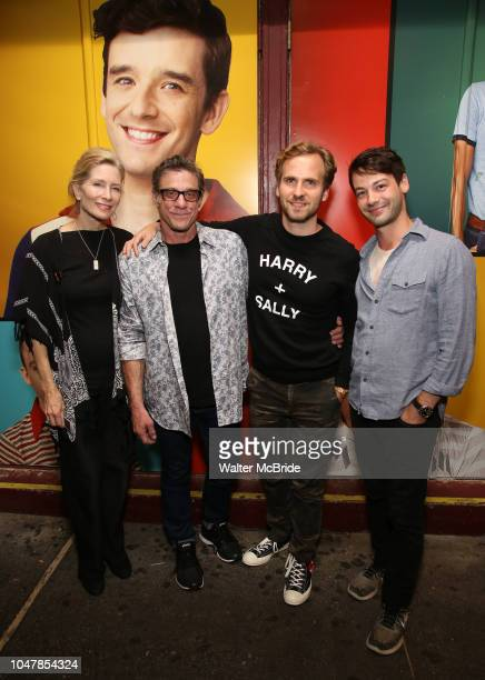 Anna Holbrook Lou Liberatore Ryan Spahn and Leland Wheeler attend the Broadway Family invite to The Final Dress Rehearsal Of Harvey Fierstein's...