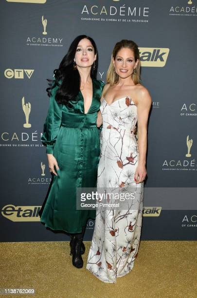 Anna Hopkins and Tara Spencer Nairn attends Canadian Screen Awards The CTV Gala Honouring Excellence In Fiction Programming at Heritage Court...