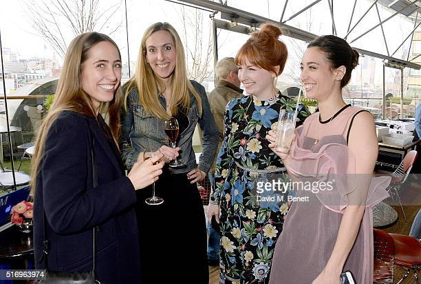 Anna Jackson guest Alice Levine and Laura Jackson and attend the Jackson Levine VIP Supperclub hosted by Laura Jackson and Alice Levine in aid of...