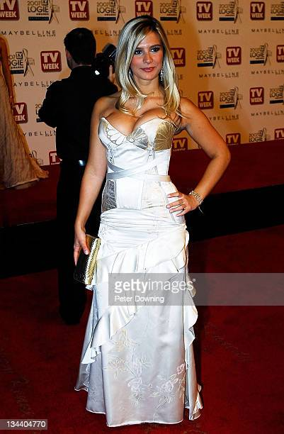 Anna JenningsEdquist during 2007 TV Week Logie Awards Arrivals at Crown Casino in Sydney NSW Australia