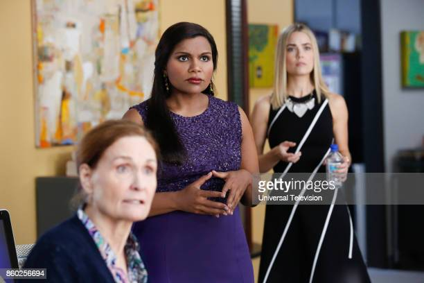 PROJECT Anna Jeremy's Meryl Streep Costume Party Episode 605 Pictured Beth Grant as Beverly Janoszewski Mindy Kaling as Mindy Lahiri Rebecca...