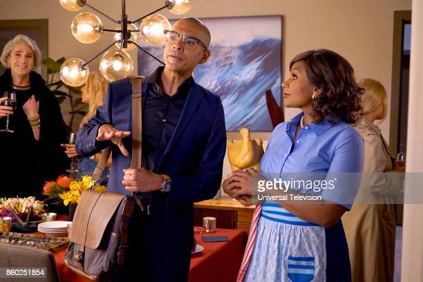 PROJECT Anna Jeremy's Meryl Streep Costume Party Episode 605 Pictured Yassir Lester as David Mindy Kaling as Mindy Lahiri