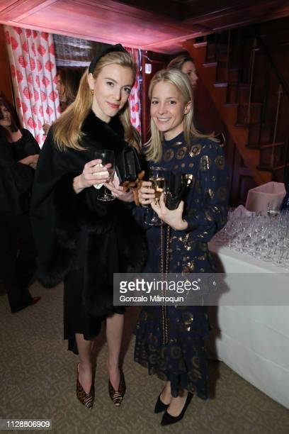 Anna Johnston and Cameron Sloan during the Teaching Matters Celebrates 25th Anniversary at Harold Pratt House on March 5 2019 in New York City
