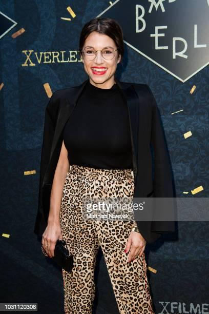 Anna Julia Kapfelsperger attends the 'Babylon Berlin Golden Hours' premiere at Bar Tausend on September 10 2018 in Berlin Germany