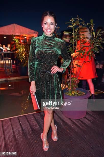 Anna Julia Kapfelsperger attends the BUNTE New Faces Award Film at Spindler Klatt on April 26 2018 in Berlin Germany