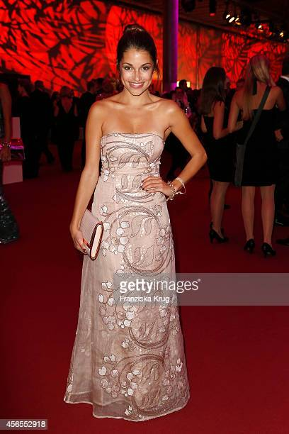 Anna Julia Kapfelsperger attends the Deutscher Fernsehpreis 2014 after show party on October 02 2014 in Cologne Germany