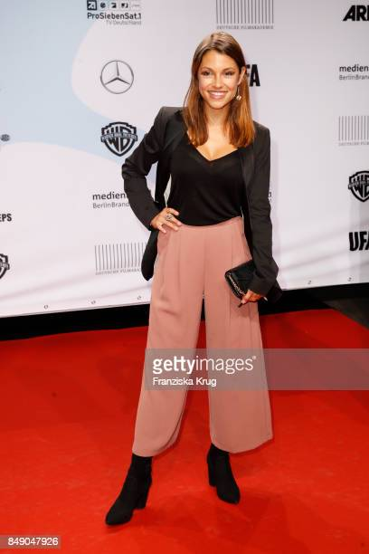 Anna Julia Kapfelsperger attends the First Steps Award 2017 at Stage Theater on September 18 2017 in Berlin Germany