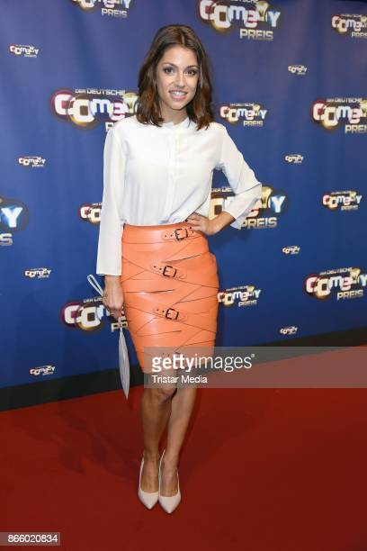 Anna Julia Kapfelsperger attends the German Comedy Awards at Studio in Koeln Muehlheim on October 24 2017 in Cologne Germany