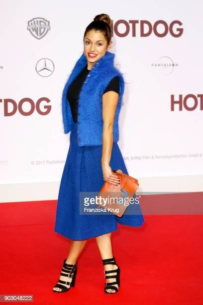 Anna Julia Kapfelsperger attends the 'Hot Dog' Premiere at CineStar on January 9 2018 in Berlin Germany