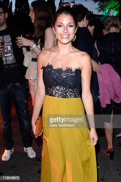 Anna Julia Kapfelsperger attends the Michalsky Stylenite 2014 at Tempodrom on July 5 2013 in Berlin Germany